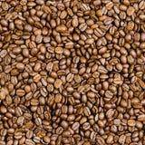Teja inconsútil de los granos de café Imágenes de archivo libres de regalías