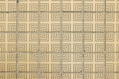 Teja texturizada piso japonés tradicional del oro Imagenes de archivo