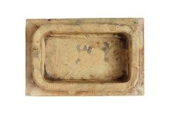 Teja vieja de la estufa Fotografía de archivo