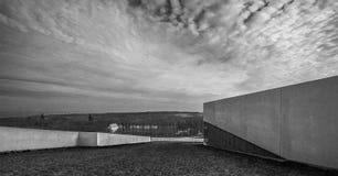 Tejado Aarhus Dinamarca del museo de Moesgaard Fotografía de archivo libre de regalías