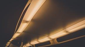 Tejado abstracto del carro del tren Foto de archivo