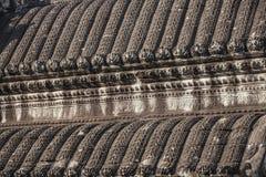 Tejado Angkor Wat dentro del detalle. Imagen de archivo libre de regalías