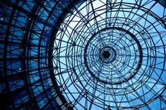 Tejado azul Imagenes de archivo
