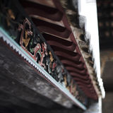 Tejado chino antiguo fotografía de archivo