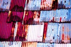 Tejado colorido Imagen de archivo