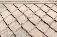 Tejado concreto en el castillo del agua de la sari del taman - el jardín real del sultanato de Jogjakarta Foto de archivo libre de regalías