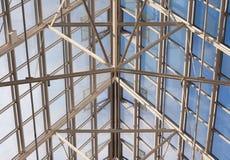 Tejado de cristal Foto de archivo libre de regalías