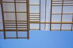 Tejado de cristal del edificio foto de archivo libre de regalías