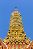 Tejado de Emerald Buddha Fotos de archivo libres de regalías