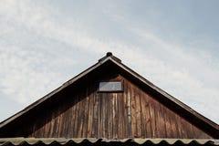 Tejado de la casa Foto de archivo