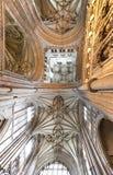 Tejado de la catedral de Cantorbery Foto de archivo