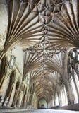 Tejado de la catedral de Cantorbery Foto de archivo libre de regalías