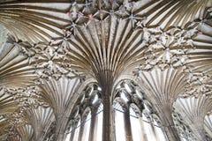Tejado de la catedral de Cantorbery Imágenes de archivo libres de regalías