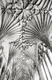 Tejado de la catedral de Cantorbery Fotos de archivo