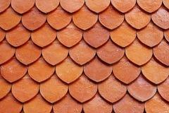 Tejado de la textura Imagen de archivo