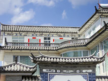Tejado de los edificios de XiZhou Fotografía de archivo libre de regalías