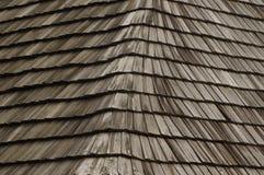 Tejado de madera Imágenes de archivo libres de regalías