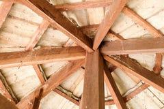 tejado de maderas Imagenes de archivo