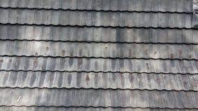 tejado de piedra del ladrillo Fotos de archivo libres de regalías
