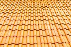 Tejado de tejas Foto de archivo
