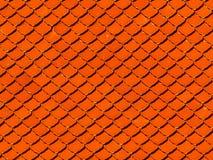 Tejado de tejas del fondo, marr?n, de tierra, color de la arcilla imagen de archivo libre de regalías