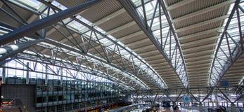 Tejado del aeropuerto de Hamburgo Foto de archivo libre de regalías