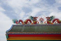 tejado del Chino-estilo Imagen de archivo libre de regalías