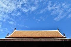 Tejado del cielo Foto de archivo libre de regalías