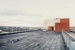 Tejado del edificio Imagen de archivo libre de regalías