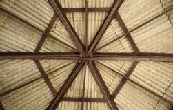 Tejado del hexágono del pabellón Fotografía de archivo