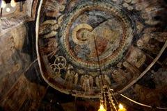 Tejado del monasterio Fotografía de archivo