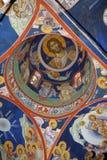 Tejado del monasterio Fotos de archivo