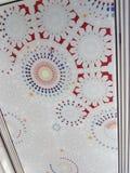 Tejado del mosaico Fotografía de archivo