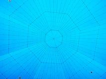 Tejado del octágono Fotos de archivo