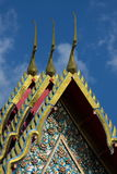 Tejado del templo Fotografía de archivo