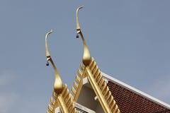 Tejado del templo. Imagenes de archivo