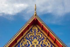 Tejado del templo Imagen de archivo