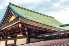 Tejado del templo de Narita Fotografía de archivo