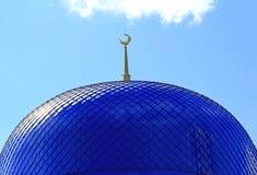 Tejado del templo del Islam fotografía de archivo