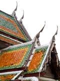 Tejado del templo tailandés Imagen de archivo