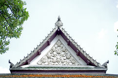 Tejado del triángulo Fotos de archivo libres de regalías