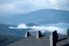 tejado en Galicia Fotografía de archivo libre de regalías