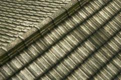 Tejado gris Fotografía de archivo