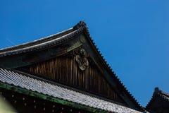 Tejado japonés foto de archivo libre de regalías