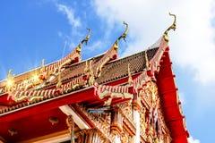 Tejado superior del templo Fotos de archivo libres de regalías