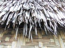 Tejado tailandés para la choza Imagenes de archivo