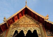 Tejado Tailandia de los artes Imagenes de archivo