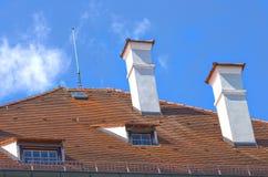 Tejado tejado Foto de archivo libre de regalías