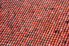 Tejado tejado viejo Foto de archivo libre de regalías