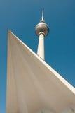 Tejado y torre Fotografía de archivo